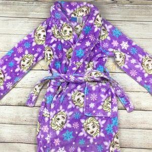 Free shipping Girls Frozen robe